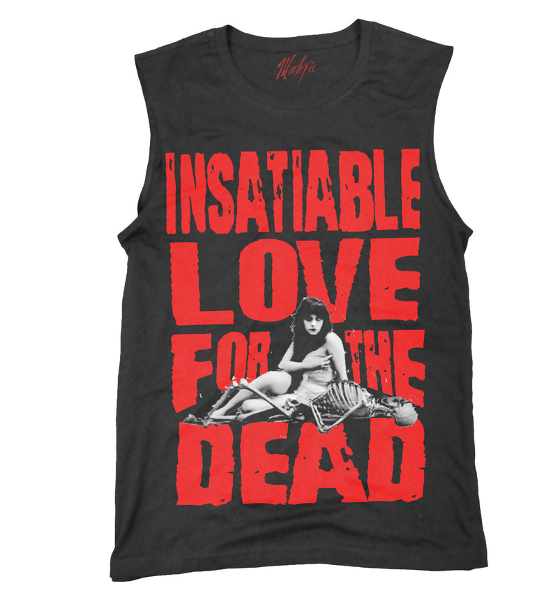 Living Dead Girl tank top, necro love and an Insatiable Love For The Dead