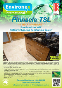 Sealer - Environex Pinnacle TSL (Low Voc)