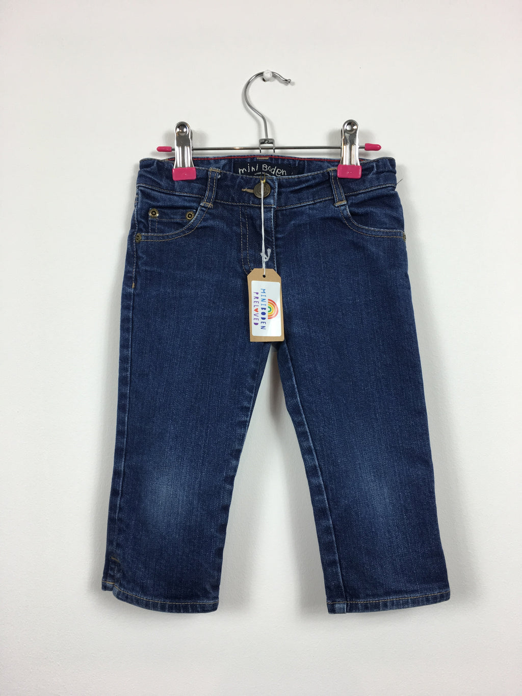 Denim Capri Pants (Age 4)