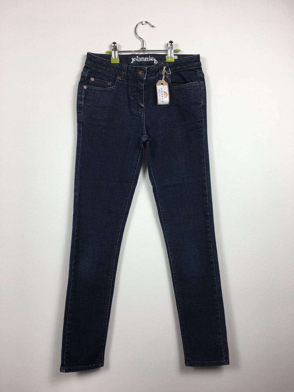 Dark Denim Slim leg Jeans waist 24L (9-10 years)