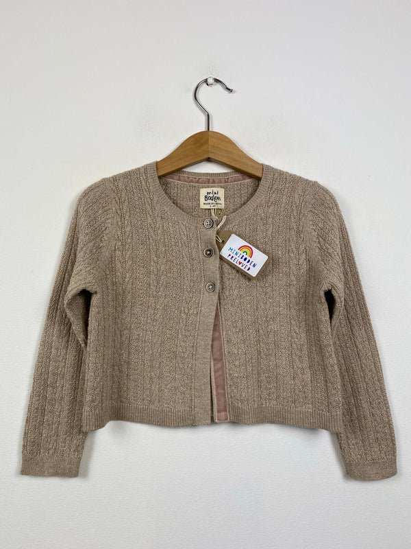 Pale Gold Occasion Cardigan (3-4 Years)