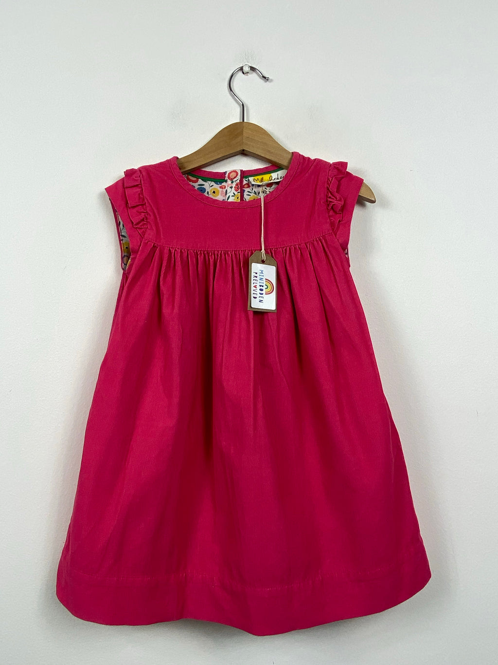 Gorgeous Pink Needlecord Dress (2-3 Years)