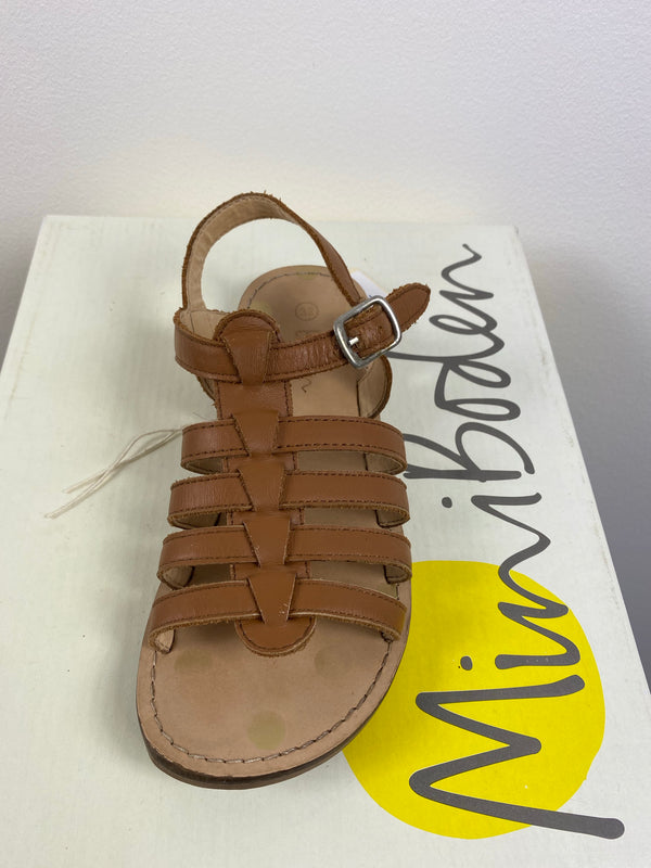 Tan Gladiator Sandals (Size - 32)