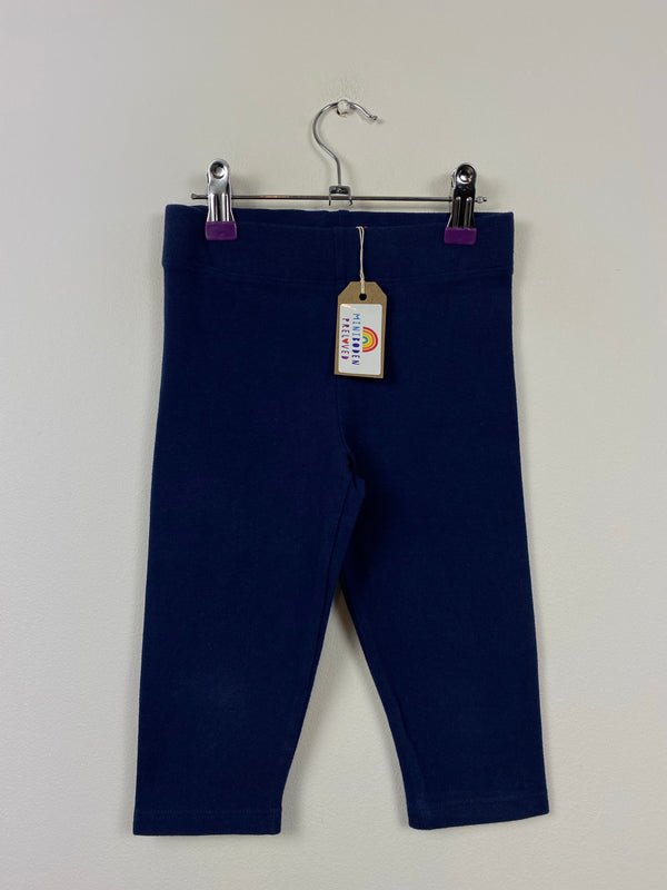 NEW Navy Short Style Leggings (5-6 Years)
