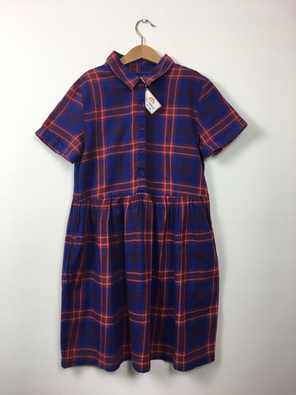 Tartan Shift Dress (11-12 Years)