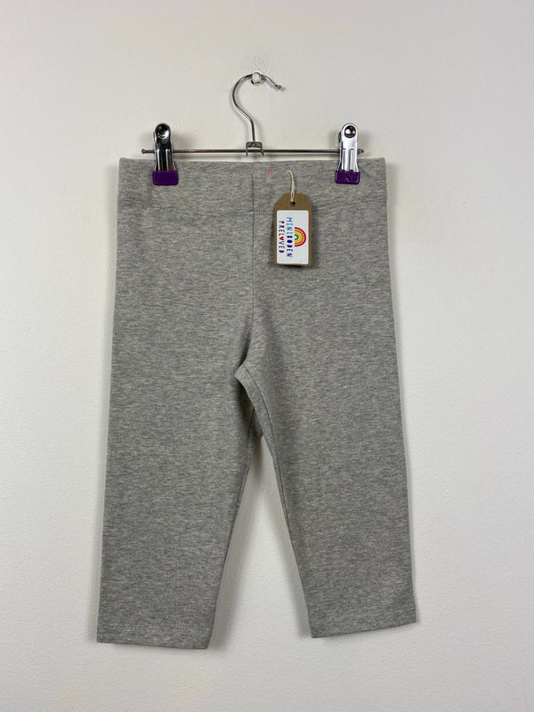 Grey Short Style Leggings (6-7 Years)