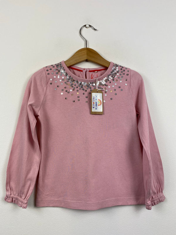 Pretty Pink Sequin Party Top (3-4 Years)