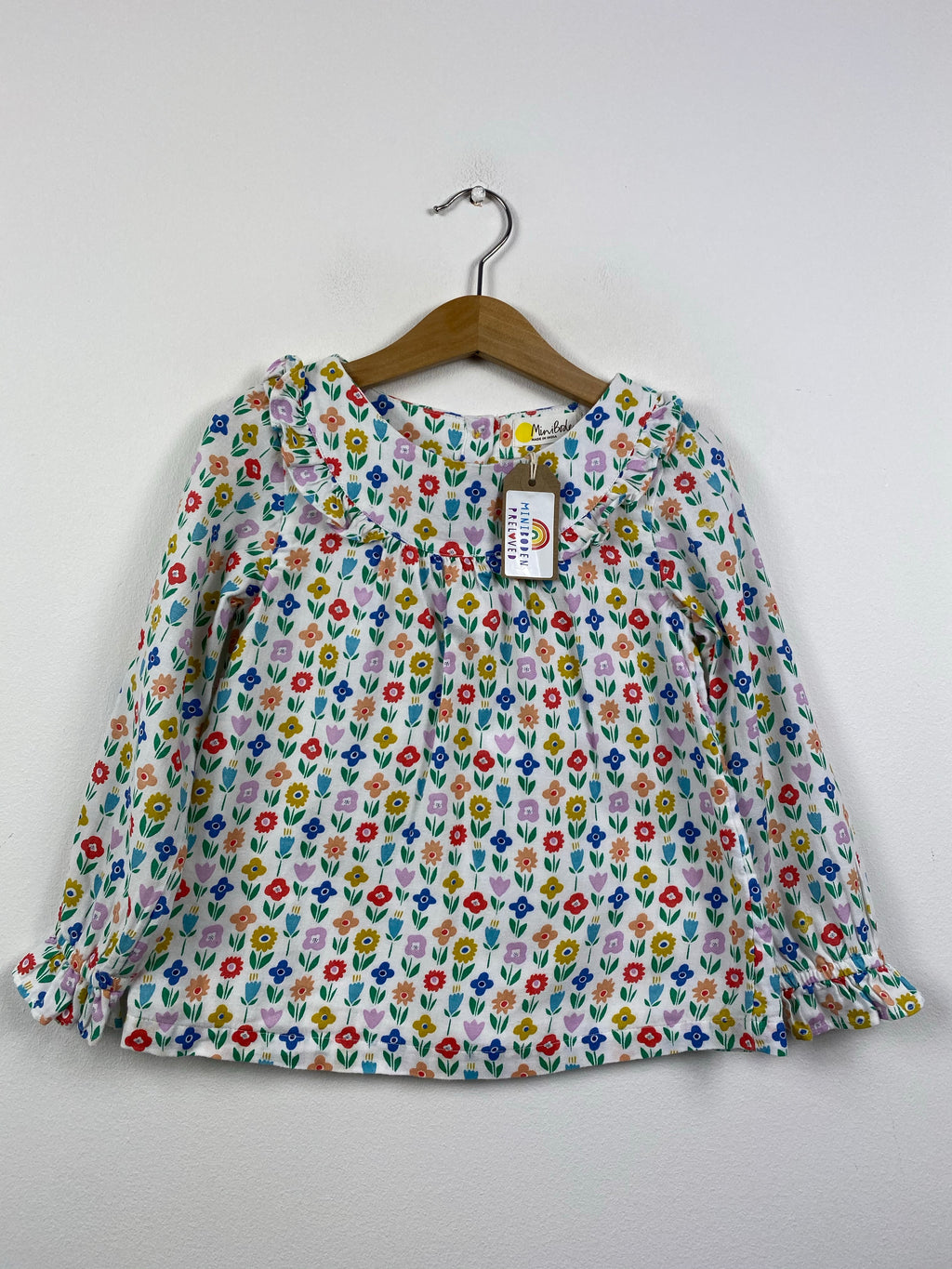 Pretty Vibrant Floral Blouse (4-5 Years)