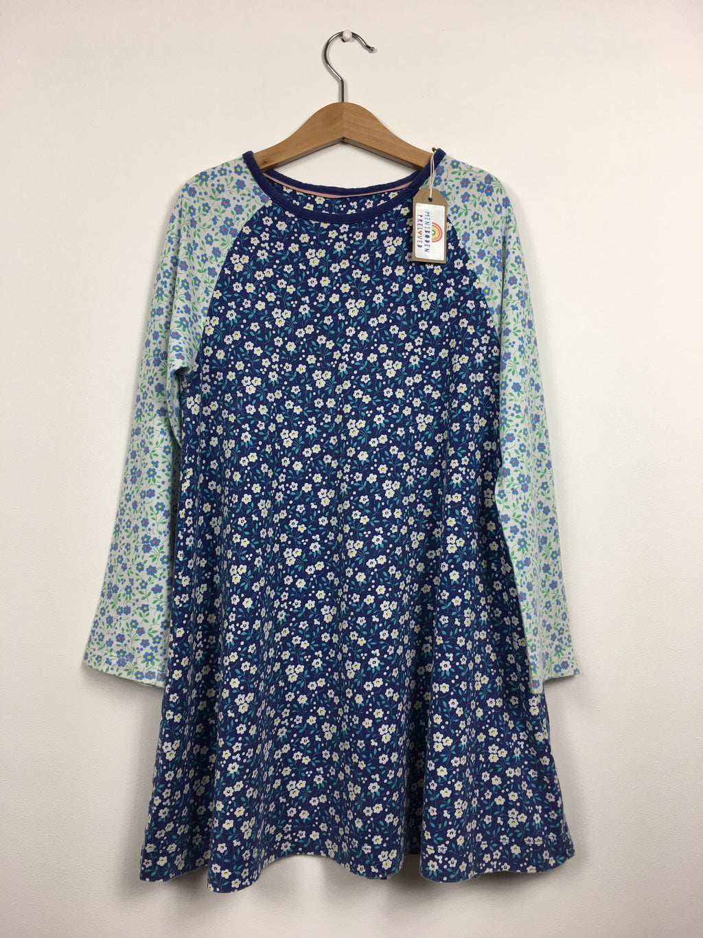 Pretty Floral Cotton Dress (7-8 Years)
