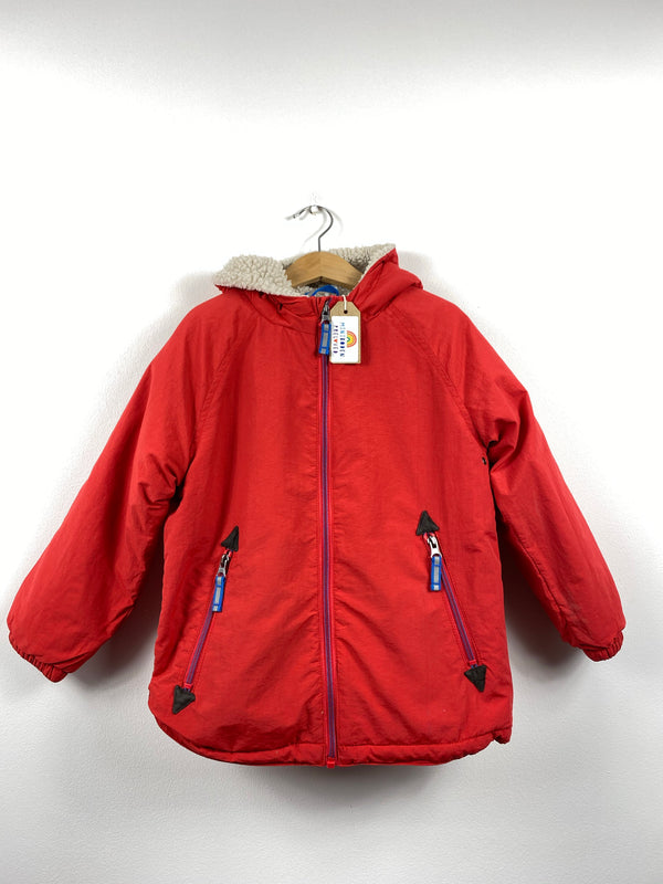 Red Fleece Lined Jacket (6-7 Years)