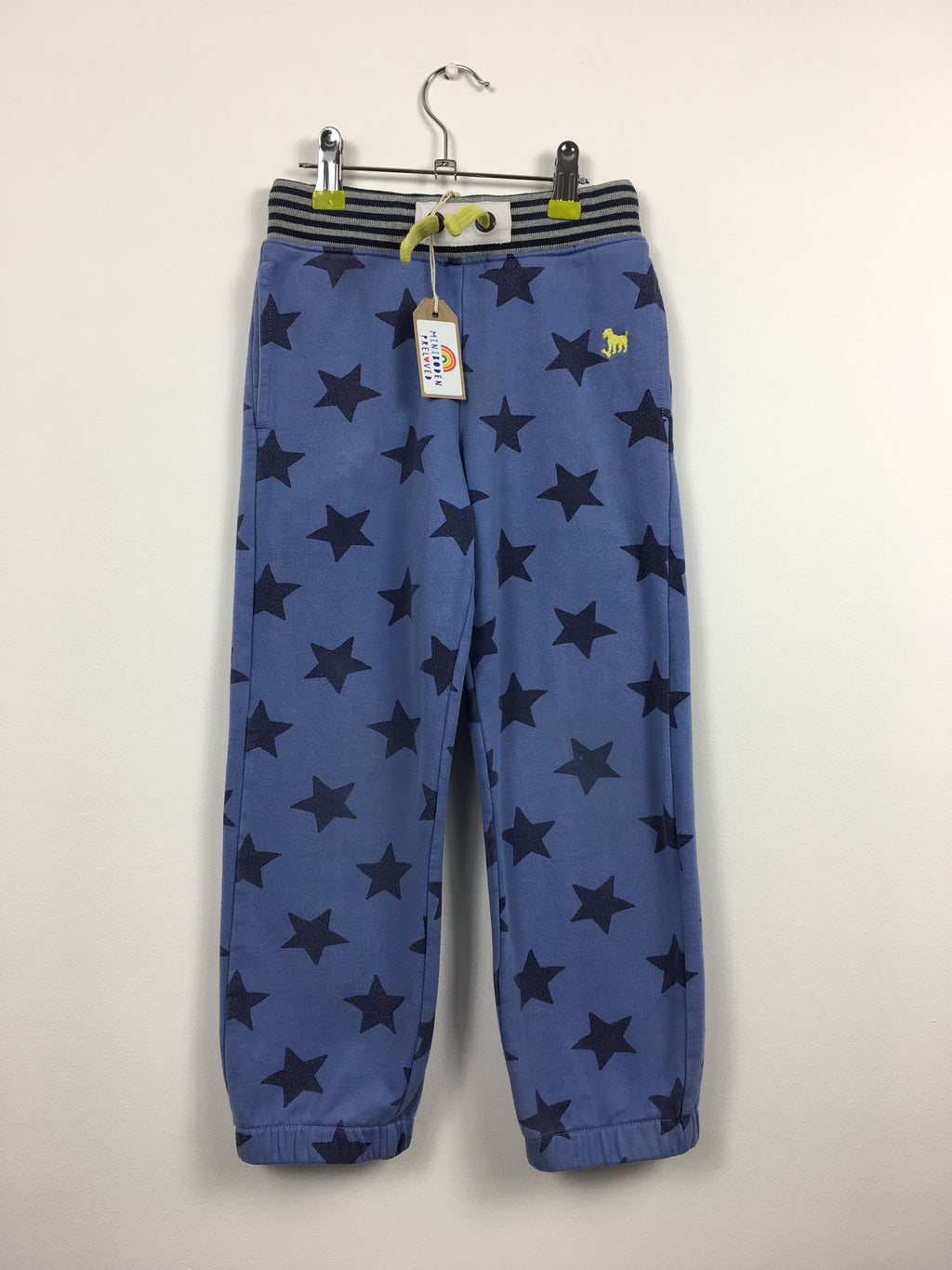 Blue Star Print Joggers (5 Years)
