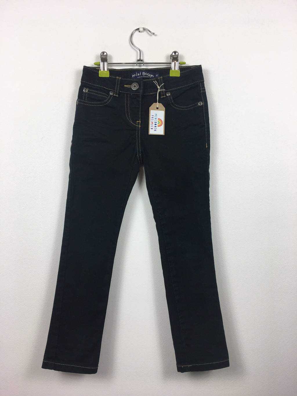 Black Slim-Fit Jeans (6 Years)