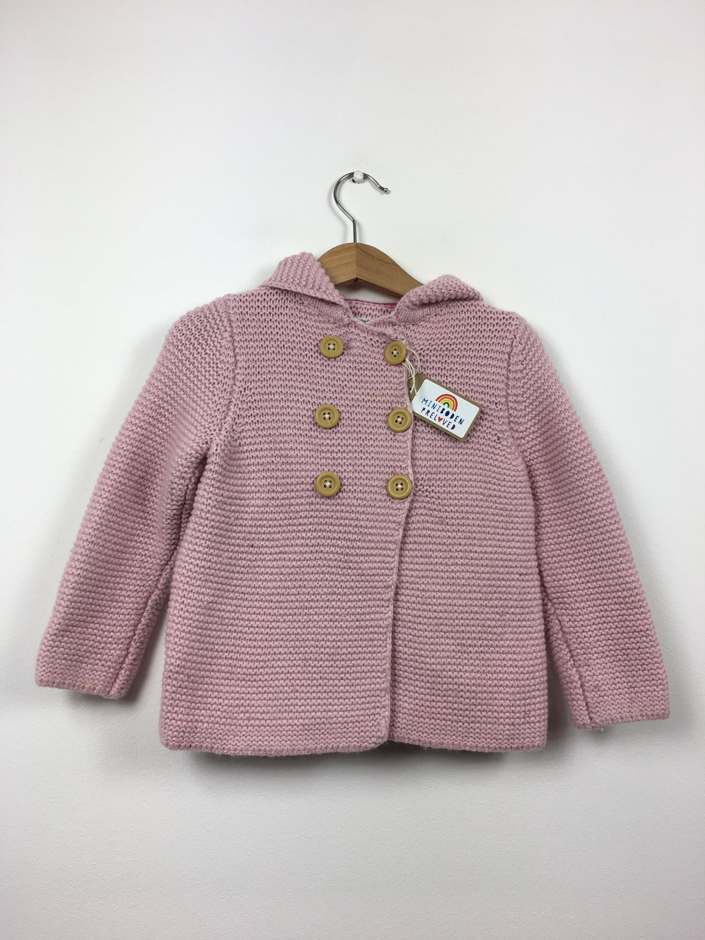 Knitted Rabbit Hooded Cardigan (18-24 Months)