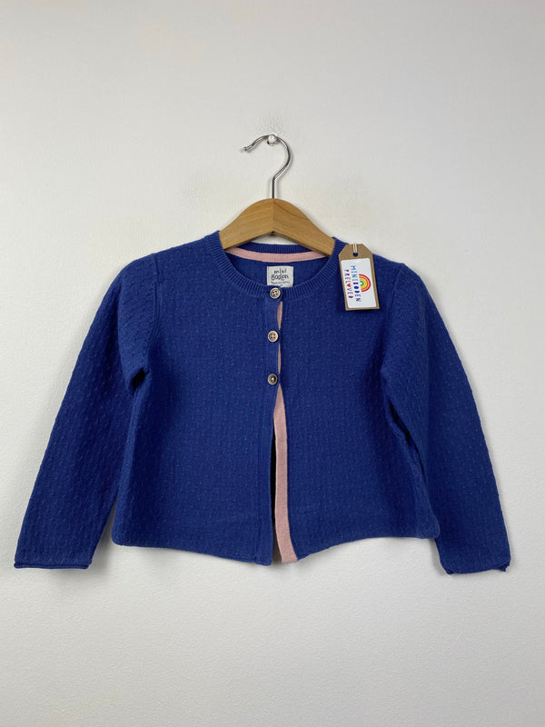 Blue Detailed Occasion Cardigan (2-3 Years)