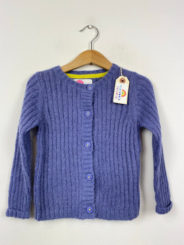 Purple Mohair Cardigan (3-4 Years)