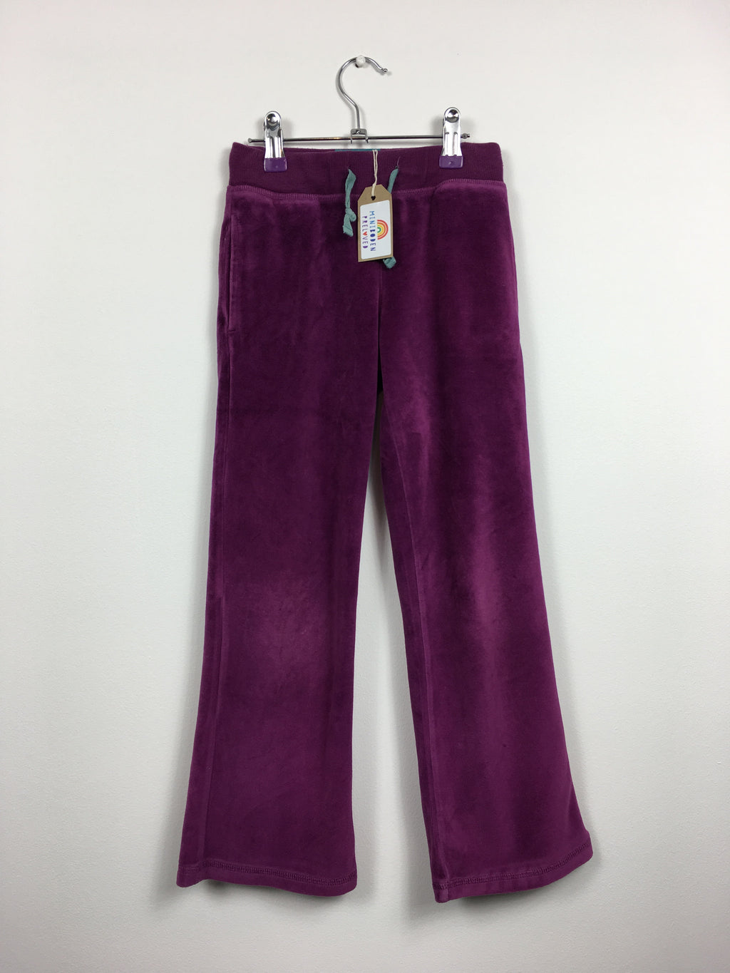 Purple Velour Joggers (7 years)