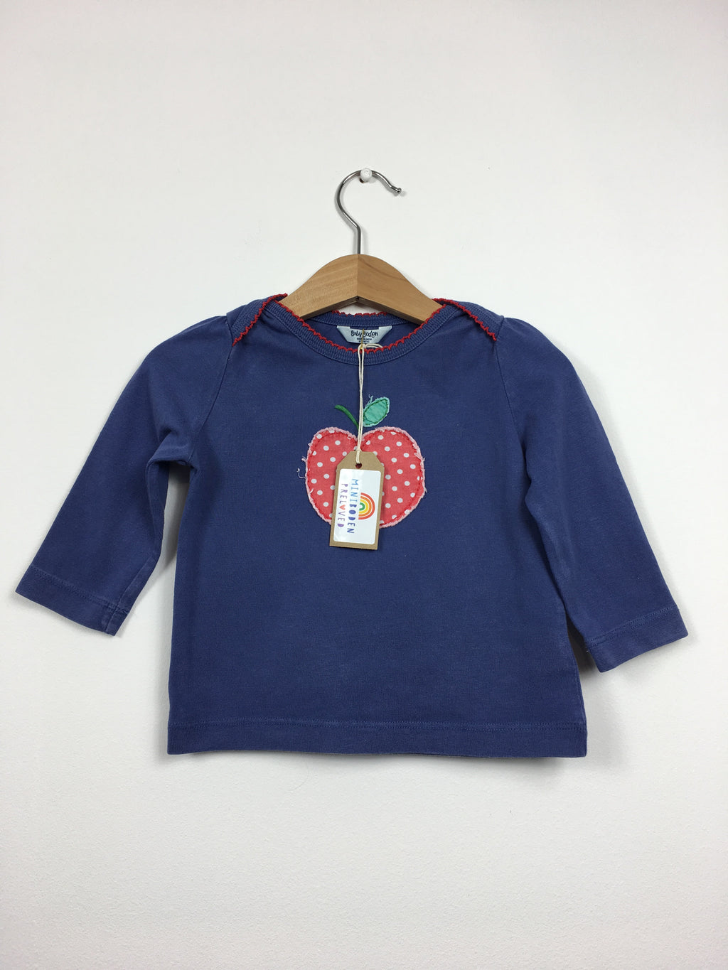 Fun Appliqué Apple Top (6-12 Months)
