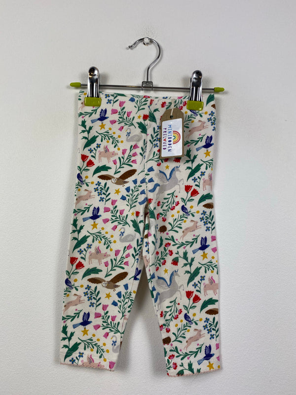 Enchanted Woodland Patterned Leggings (6-12 Months)