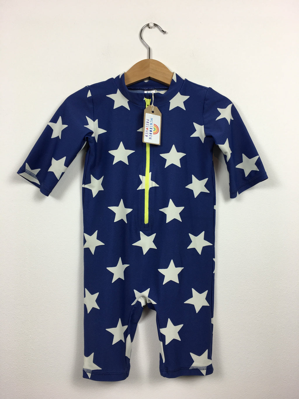 Star Print Blue UV Surf Suit (12-18 Months)