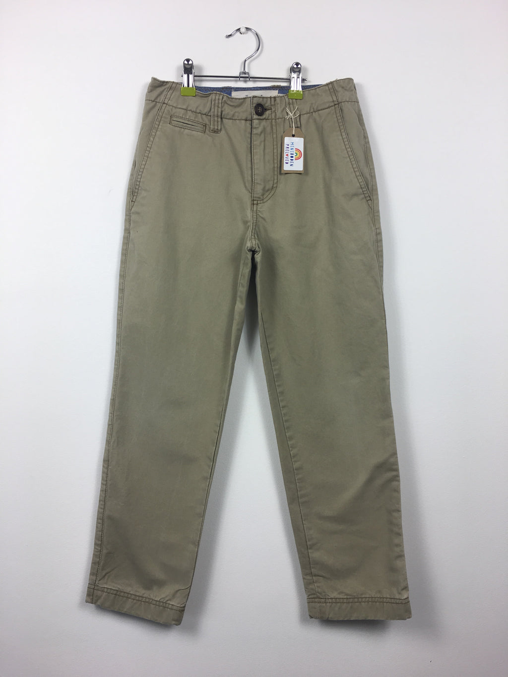 Beige Chino Trousers (9-10 Years)