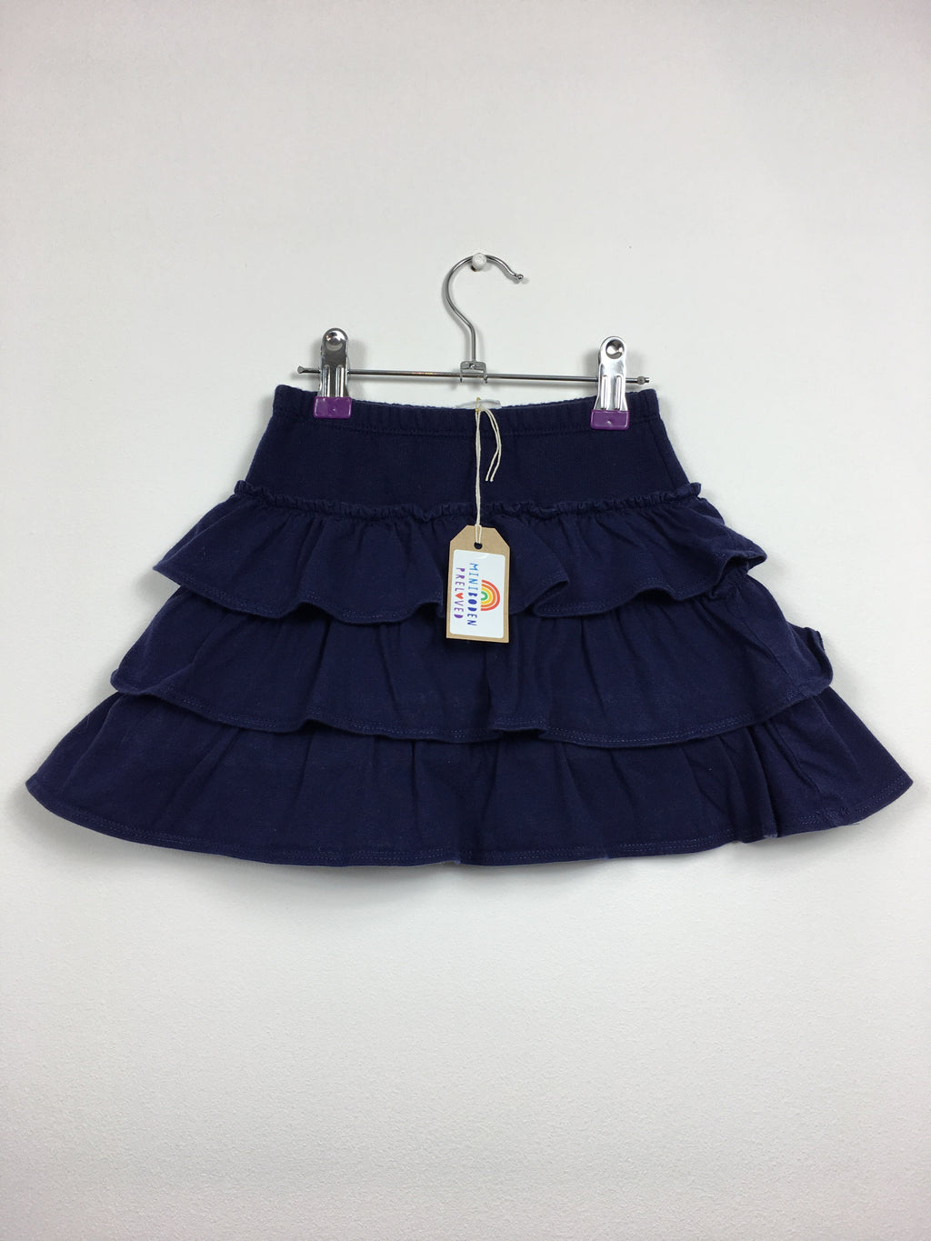 Blue Ruffle Design Skirt (3-4 Years)