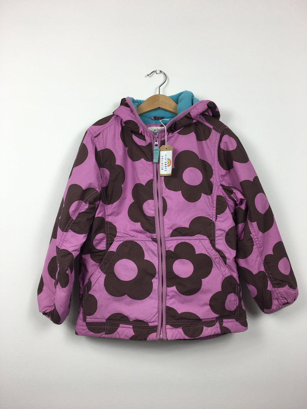 Fleece Lined Purple Jacket (7-8 Years)
