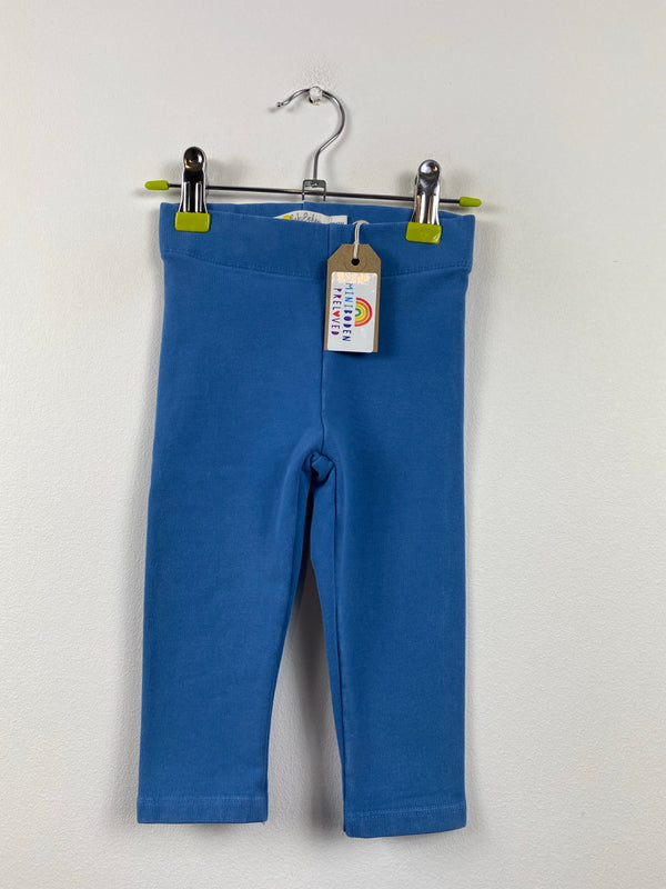 Blue Thick & Cosy Leggings (6-12 Months)