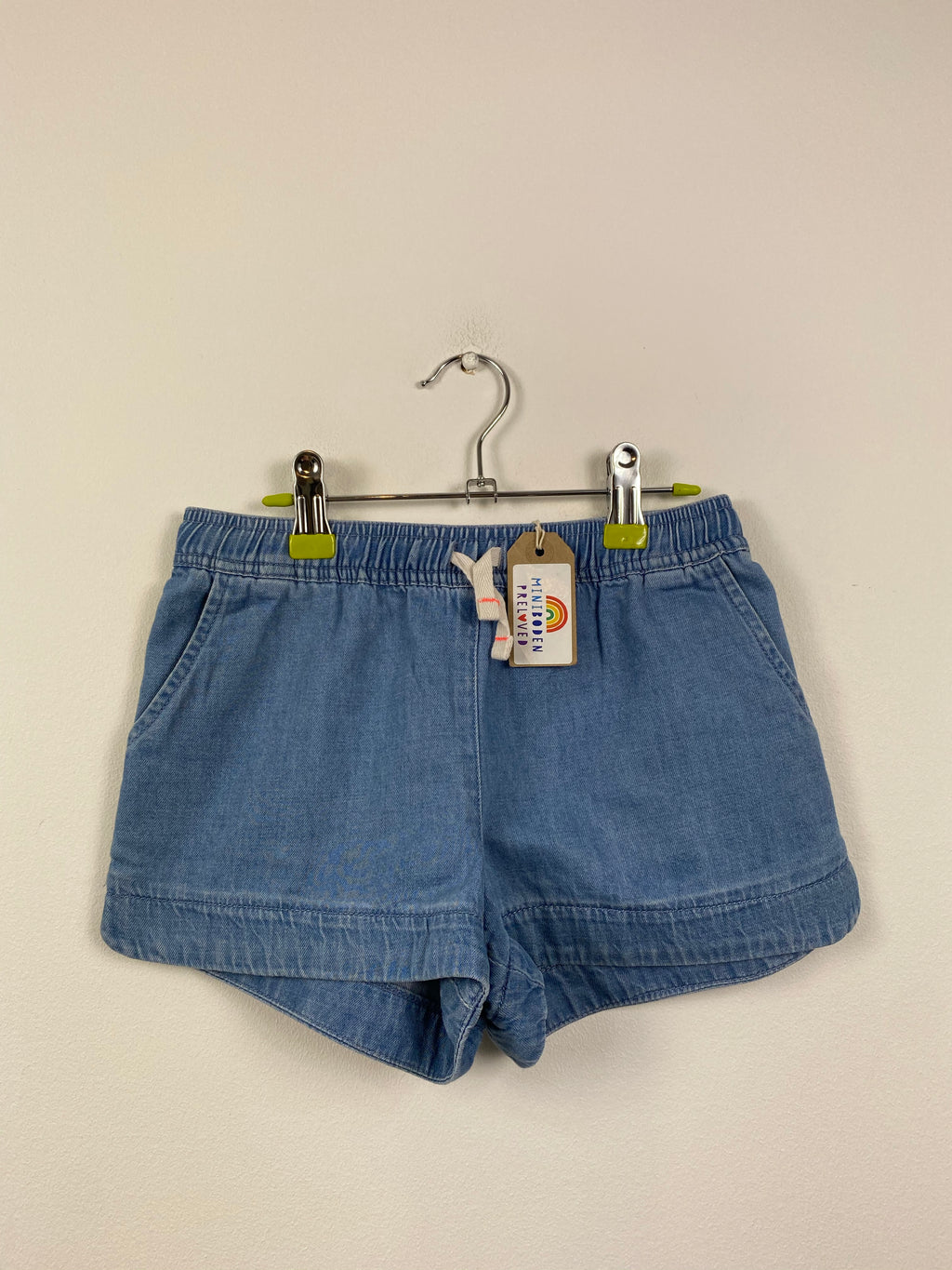 Soft Denim Blue Shorts (8 Years)