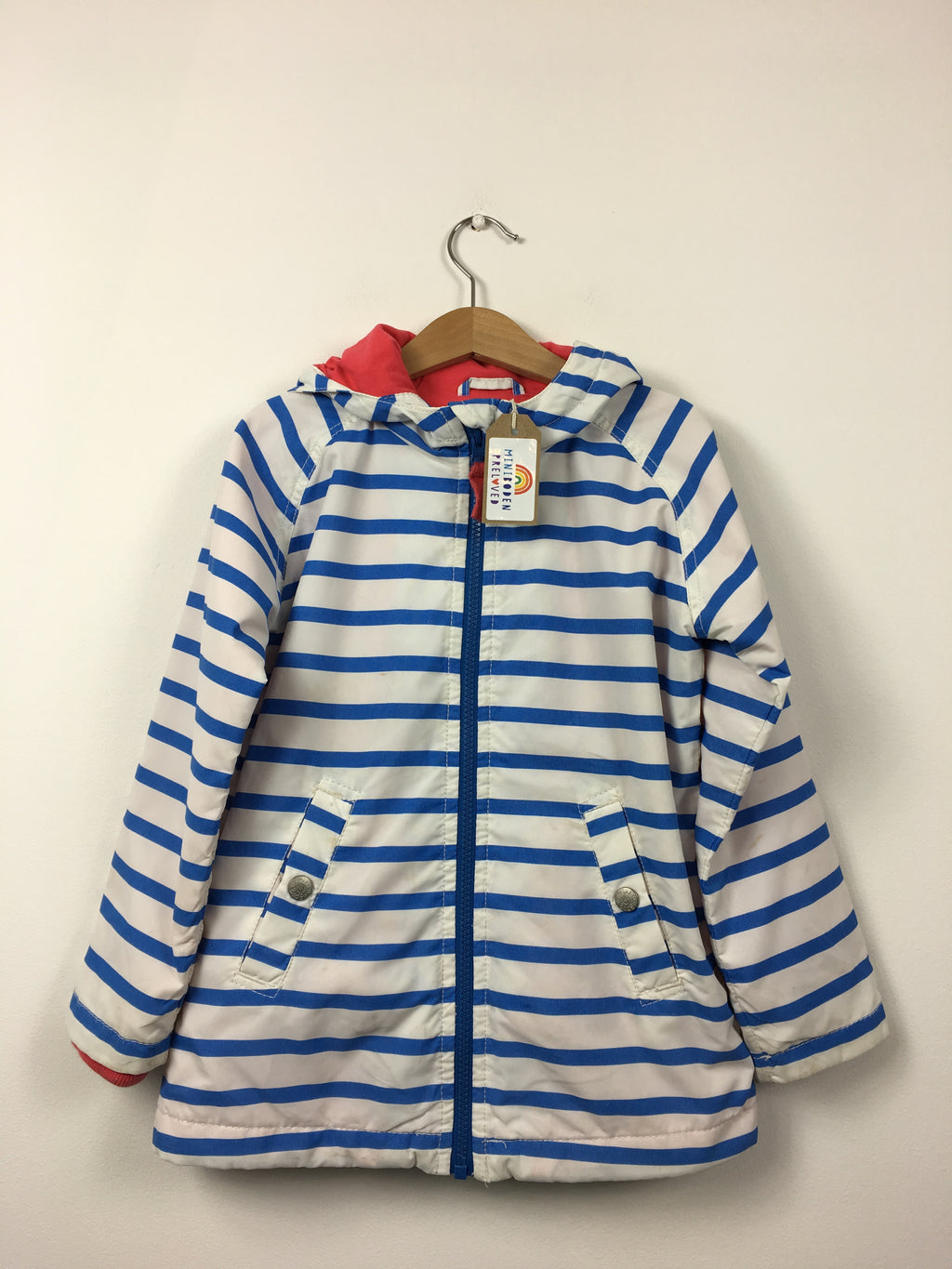 Blue Stripy Spring Jacket (3-4 Years)