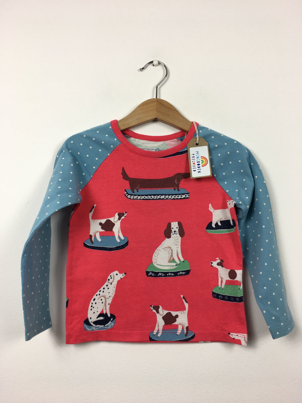 Hotchpotch Dog Print Top (2-3 Years)