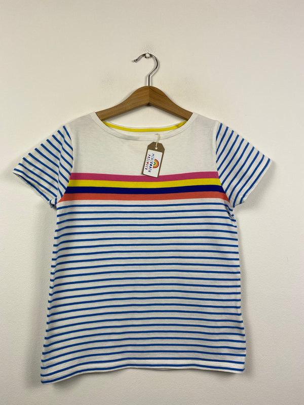 Multi-coloured Stripy T-Shirt (9-10 Years)