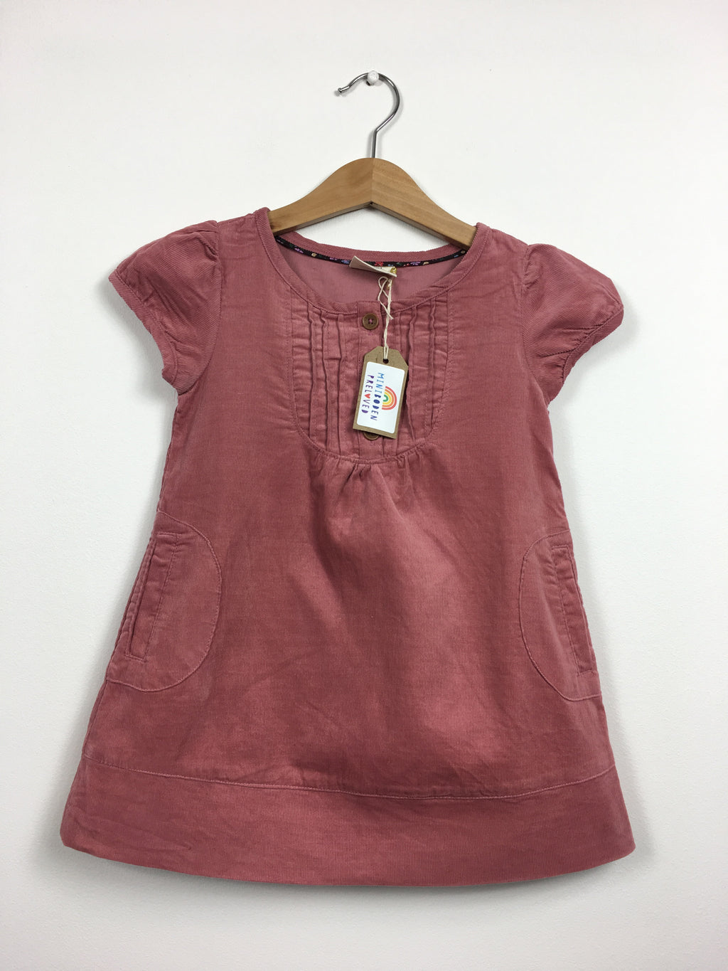 Pretty Salmon Pink Cord Dress (18-24 Months)