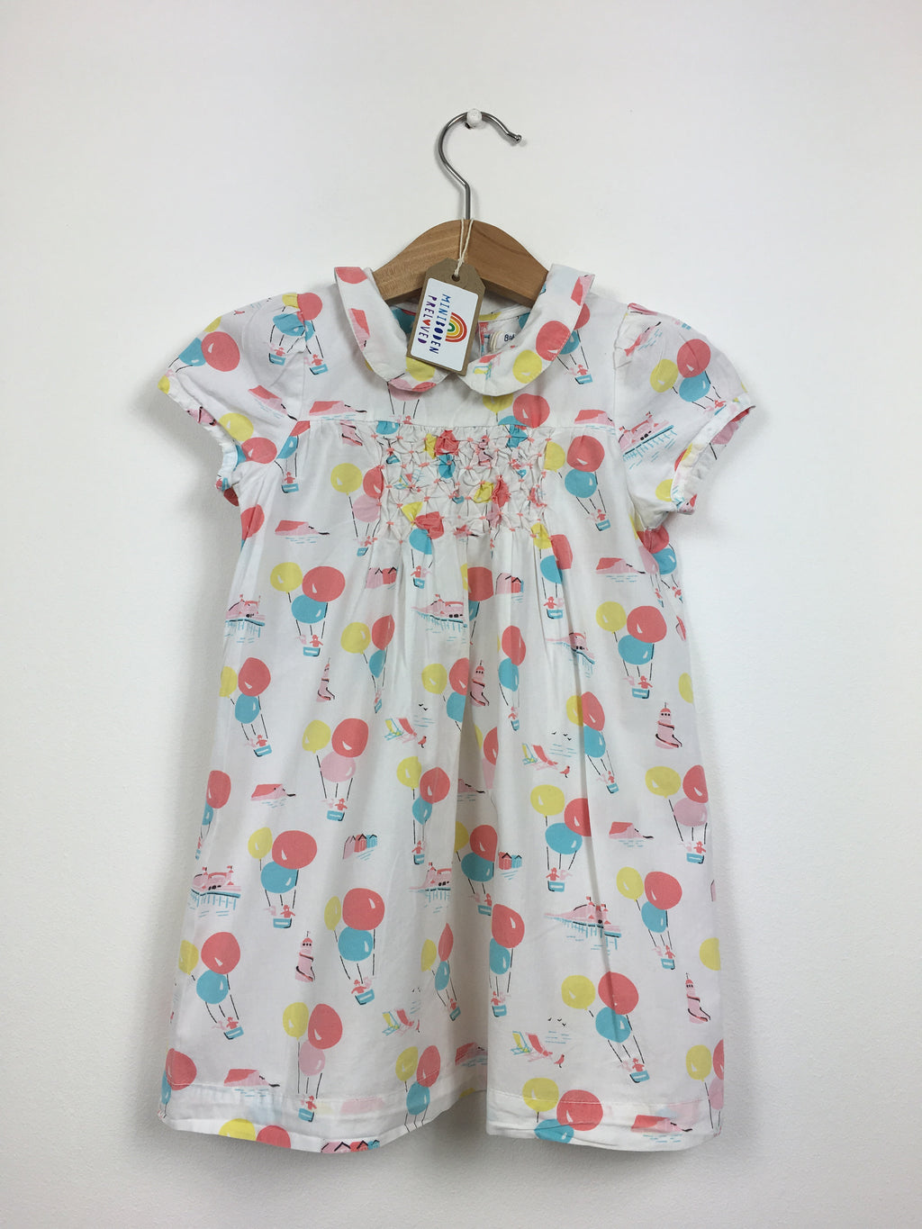 Hot Air Balloon Print Dress (12-18 Months)