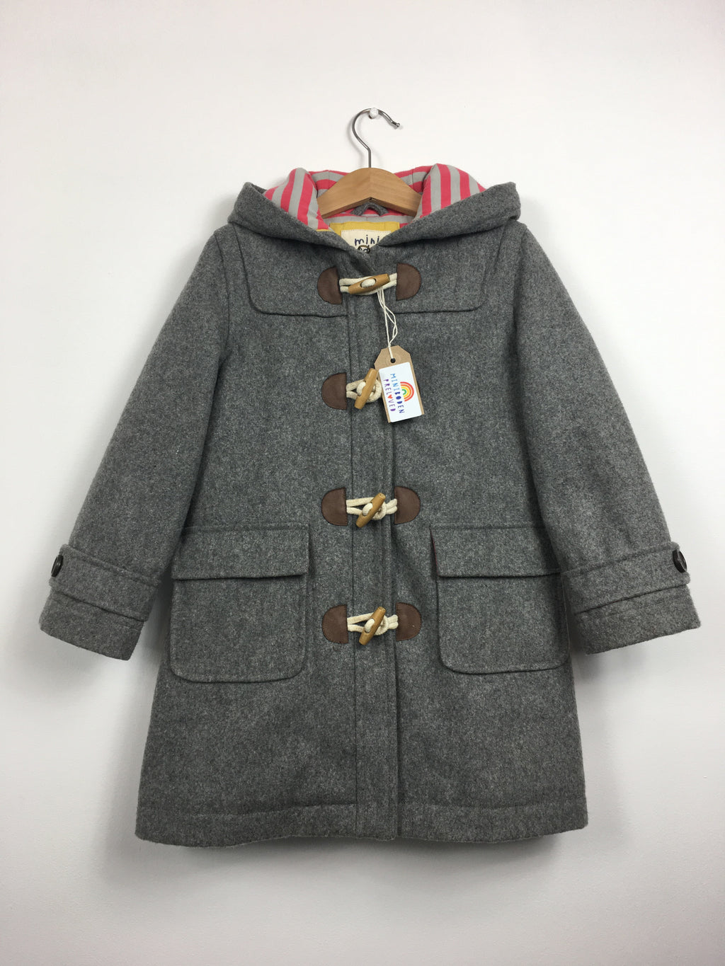 Grey Wool Duffle Coat (4-5 Years)