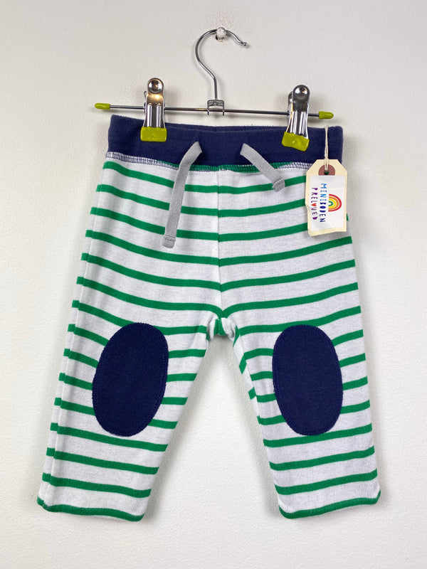 Stripy Green Reversible Joggers (3-6 Months)
