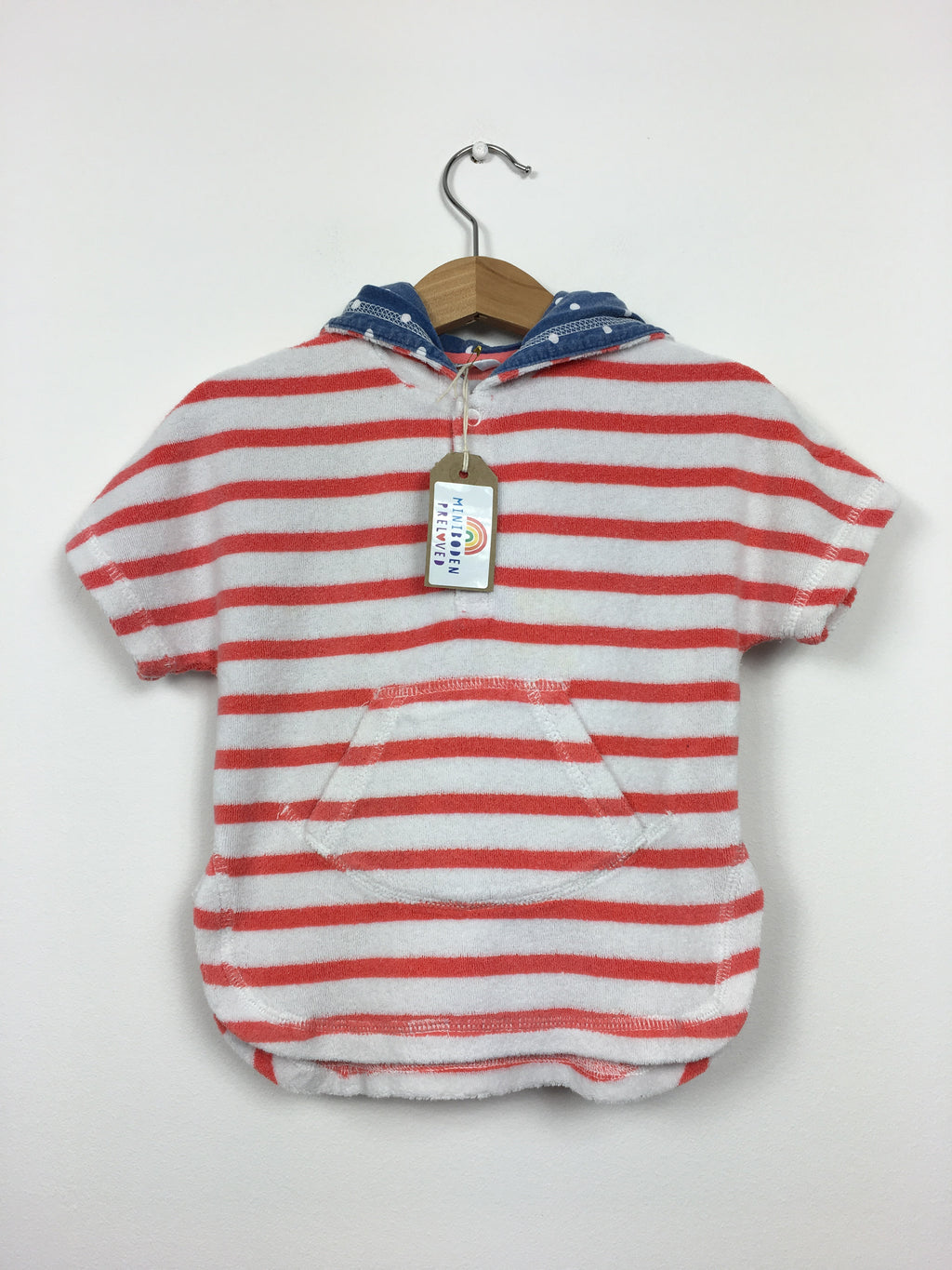 Red Stripy Towelling Top (3-6 Months)