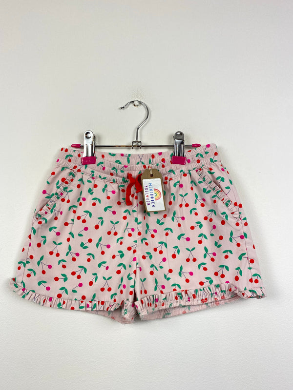 Pink Cherry Patterned Shorts (5 Years)