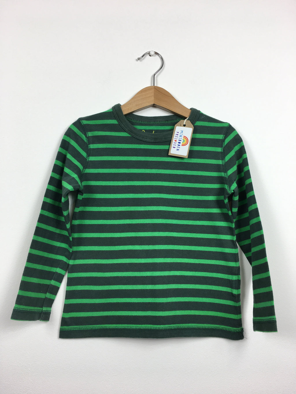 Green Stripy Top (3-4 Years)