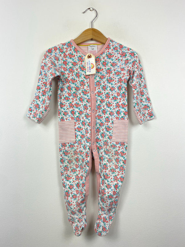 Pretty Floral Sleepsuit (9-12 Months)