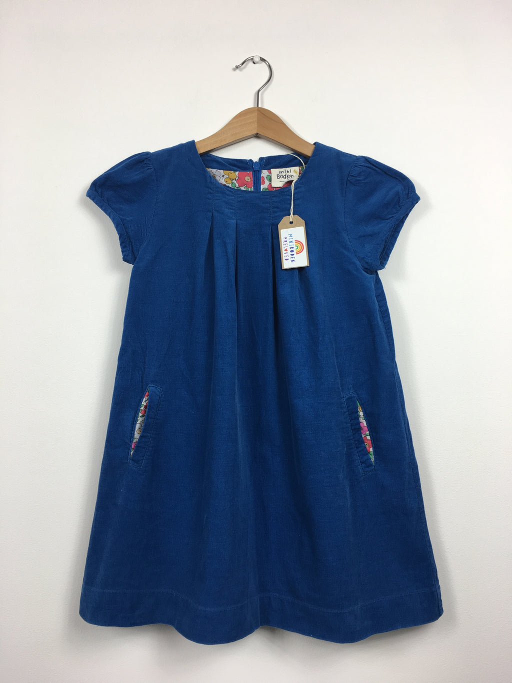 Beautiful Blue Cord Dress (6-7 Years)