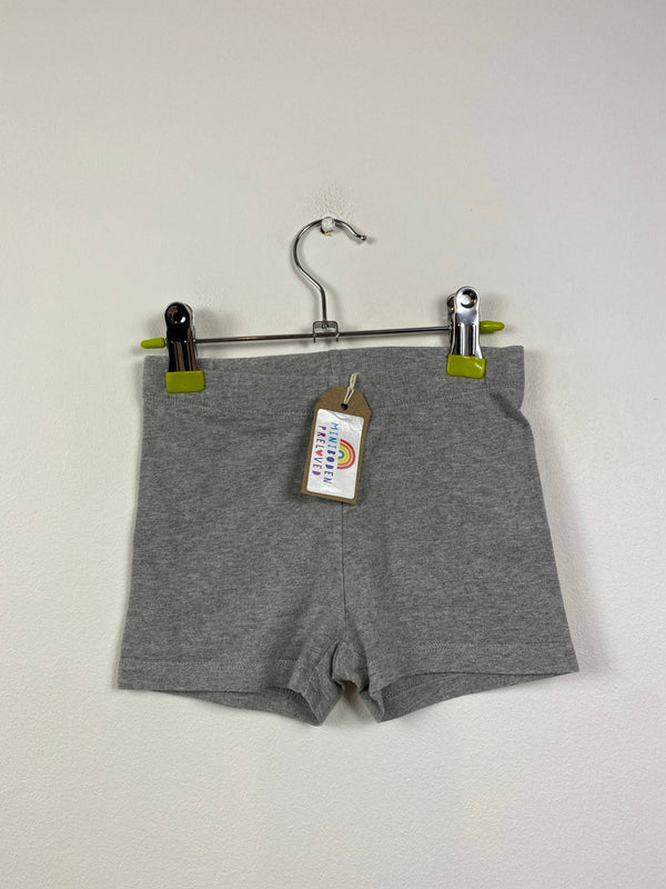 Grey Cycle Shorts (18-24 Months)