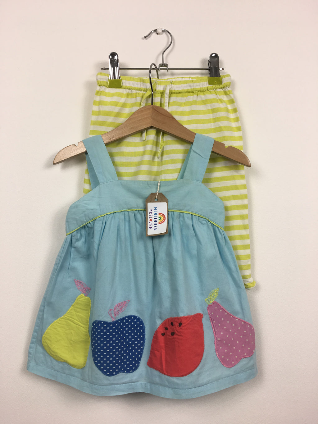Appliqué Fruits Summer Set (18-24 Months)