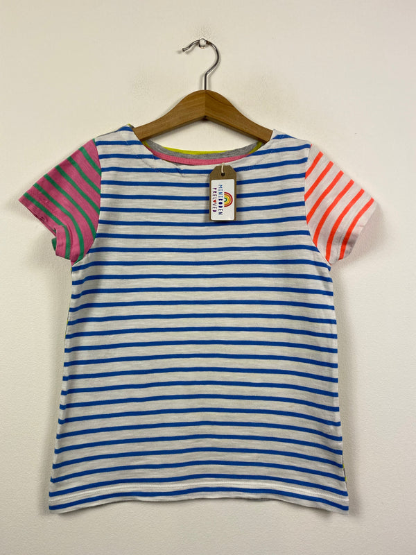 Multi-coloured Stripy T-Shirt (7-8 Years)