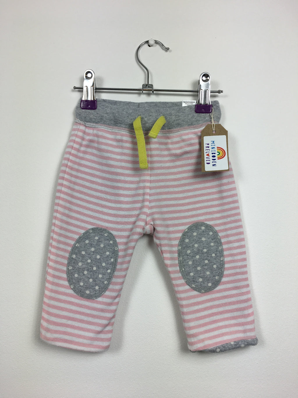 Stripes & Spots Reversible Joggers (3-6 Months)