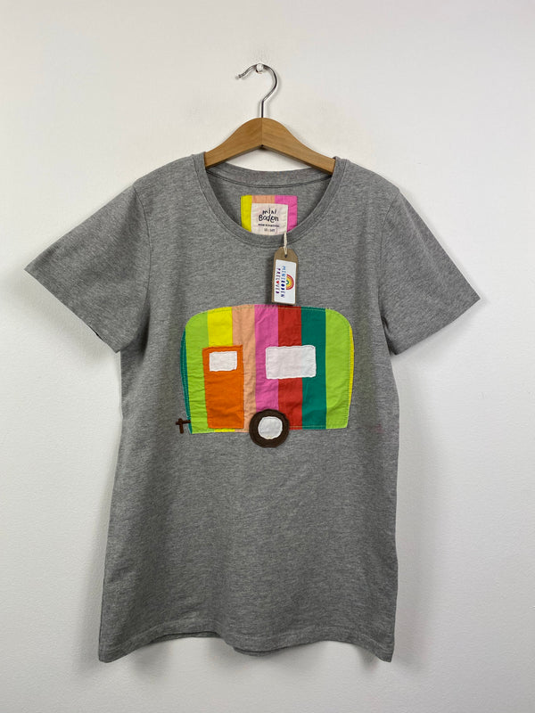 Grey Applique Caravan T-Shirt (13-14 Years)