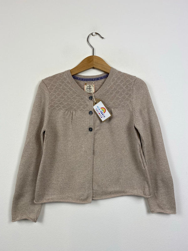 Pale Gold Occasion Cardigan (4-5 Years)