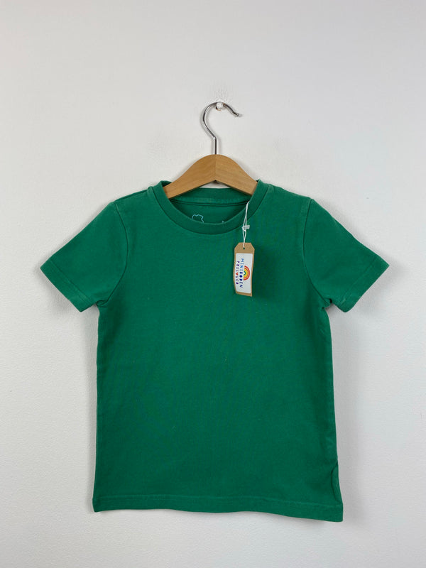 Plain Green T-Shirt (3-4 Years)
