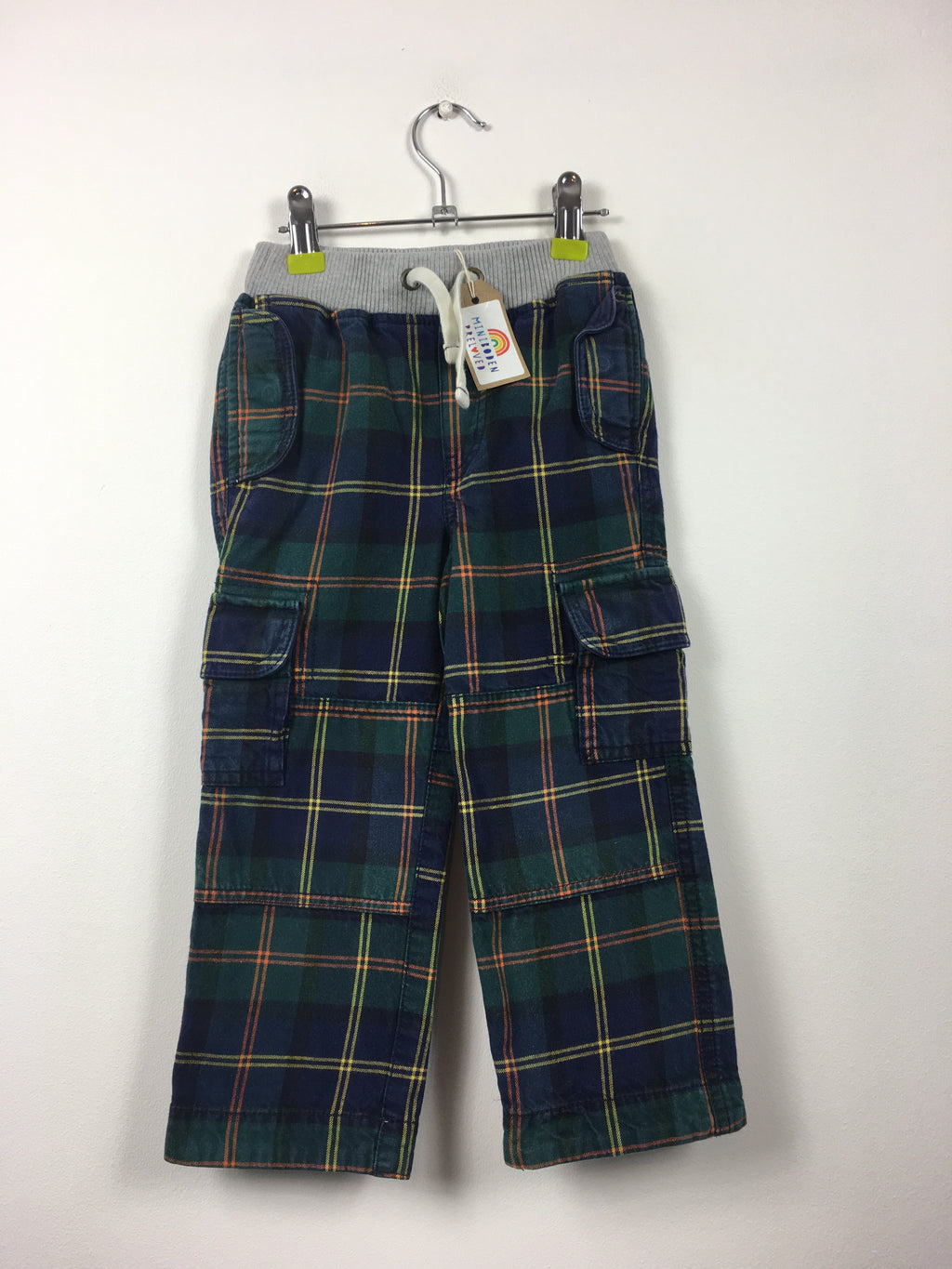 Green Checked Trousers (3 Years)