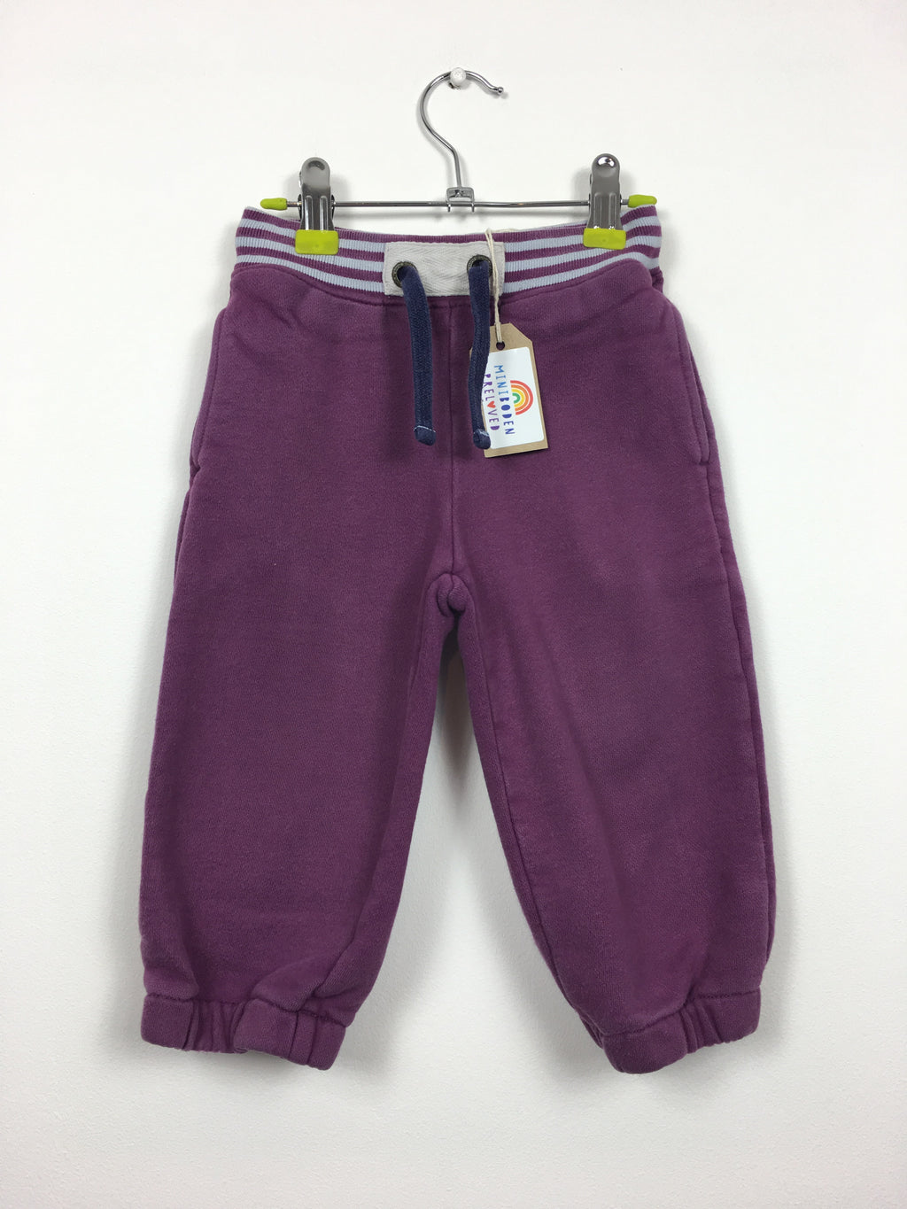 Purple Cotton Joggers (2 Years)