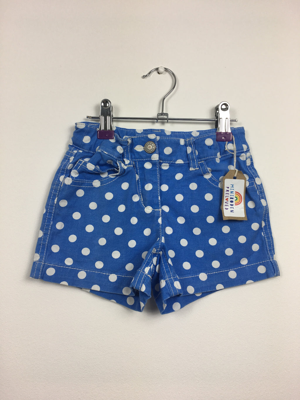 Blue Spotty Shorts (4 Years)